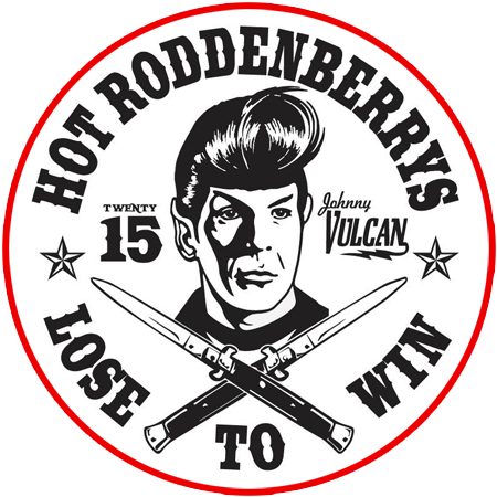 Hot Roddenberrys Gang Patch