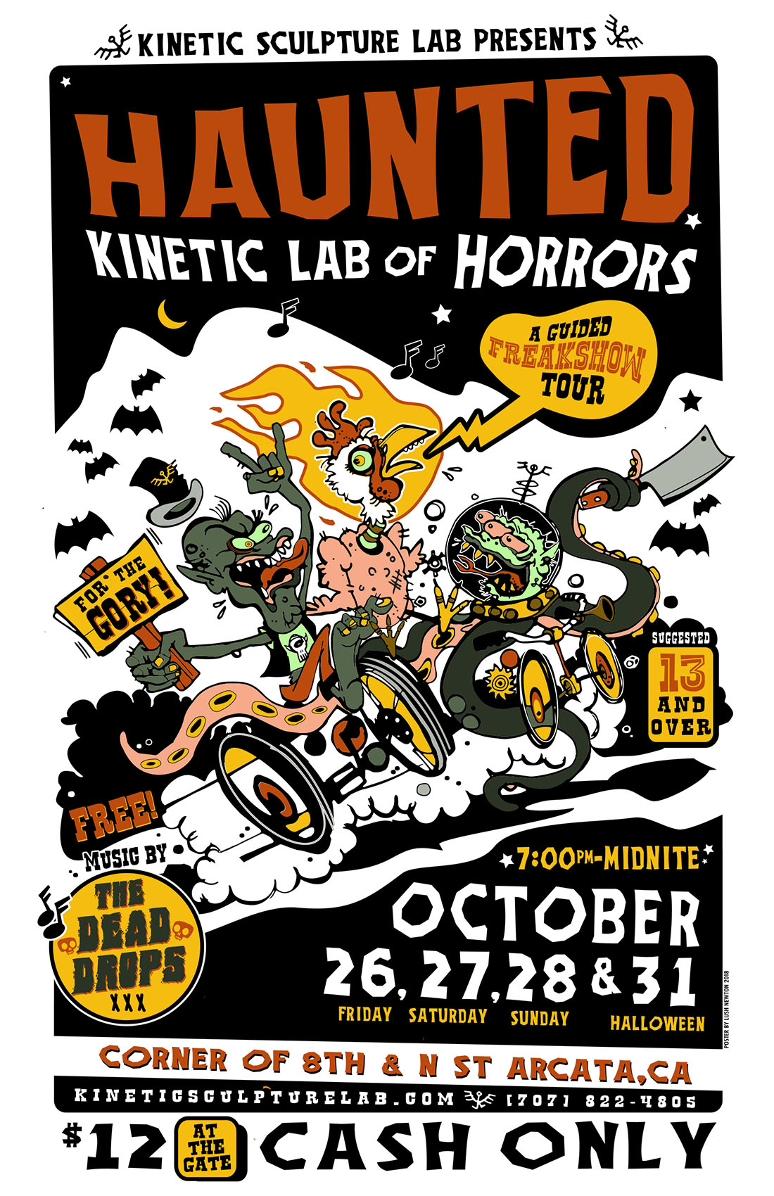 haunted lab poster full size